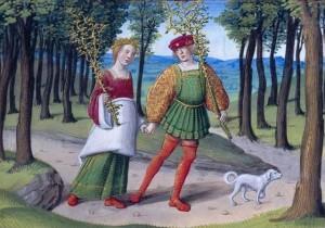 Morgan Library Hours of Hnrey VIII/Anne de Bretagne f.3
