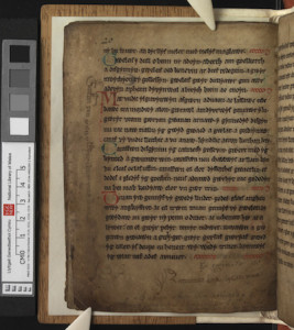 Image of p. 20 of The Book of Aneirin