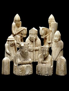 image of Isle of Lewis chess pieces